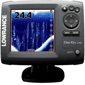 Эхолот-сканер Lowrance Elite 5x DSI
