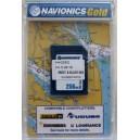Карта Navionics Goid  Дунай  устье 100 км