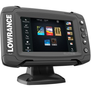 Эхолот-картплоттер Lowrance Elite 5 Ti (Mid/High/DownScan)