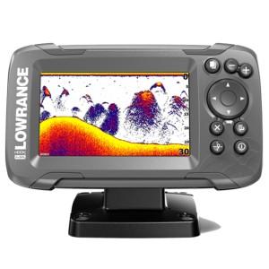 Эхолот с GPS Lowrance HOOK2-4x с датчиком Bullet