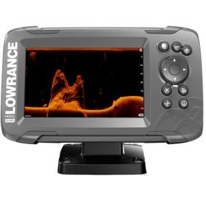 Эхолот с GPS Lowrance HOOK2-5x с датчиком SplitShot