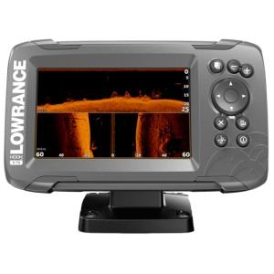 Эхолот-картплоттер Lowrance HOOK2-5 с датчиком SplitShot