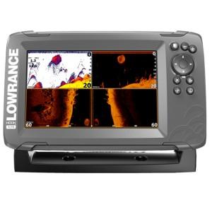 Эхолот с GPS Lowrance HOOK2-7x с датчиком TripleShot