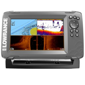 Эхолот-картплоттер Lowrance HOOK2-7 с датчиком TripleShot