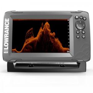 Эхолот с GPS Lowrance HOOK2-7x с датчиком SplitShot