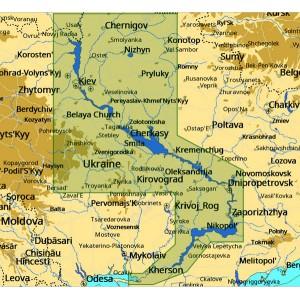 Карта С-МАР MAX-N+ EN-Y084.40 - Река Днепр