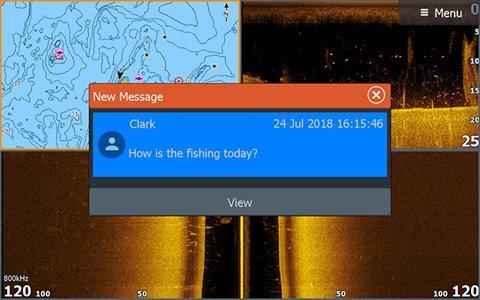 Отображение сообщений с вашего смартфона