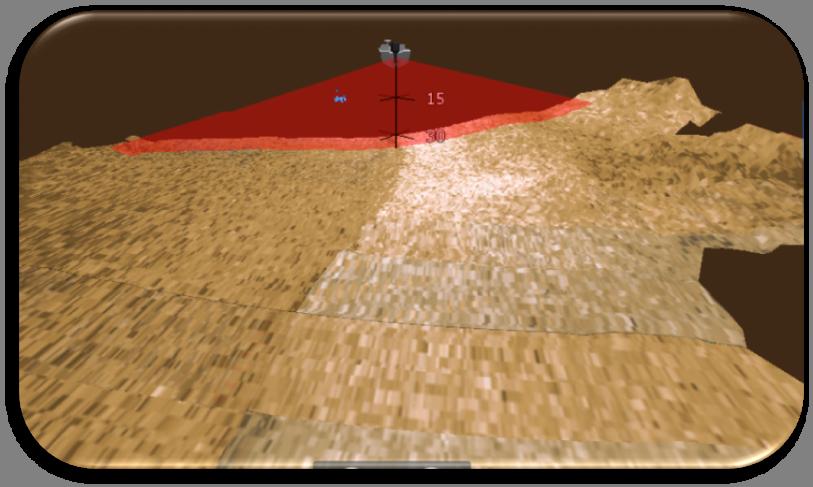 StructureScan 3D - Легко и быстро настраивайте отображение  троллинговых приманок для захвата правильной стороны и глубины.